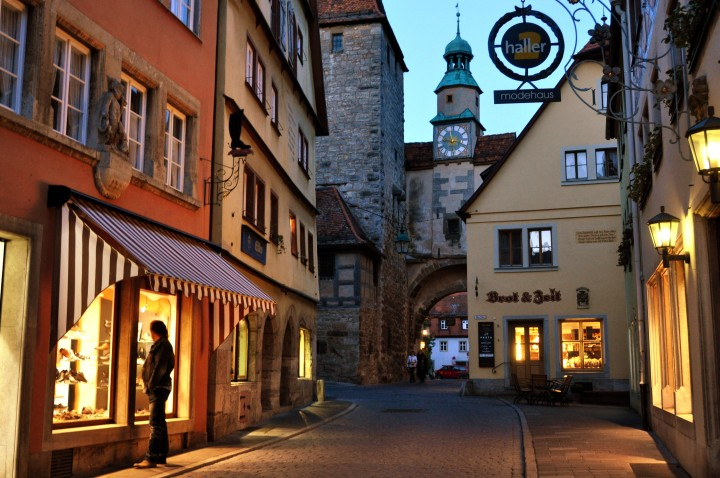 Rothenburg ob der Tauber, Germany  - 2011