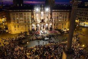 Corpus Domini in Rome, Italy - 2014