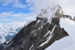 The peak of the Mönch from the Jungfraujoch