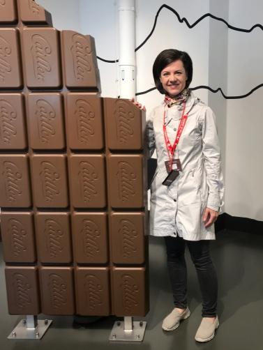 Cailler's chocolate factory in Broc, Switzerland