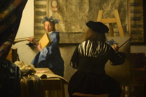 """Vermeer's """"The Art of Painting"""""""