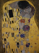 "Klimt's ""The Kiss"""