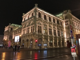 The State Opera in Vienna.