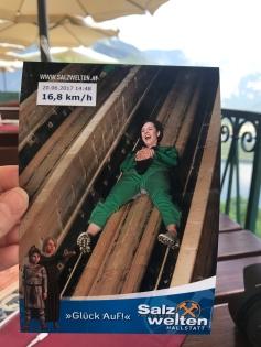Salt mines tour, Hallstatt, Austria