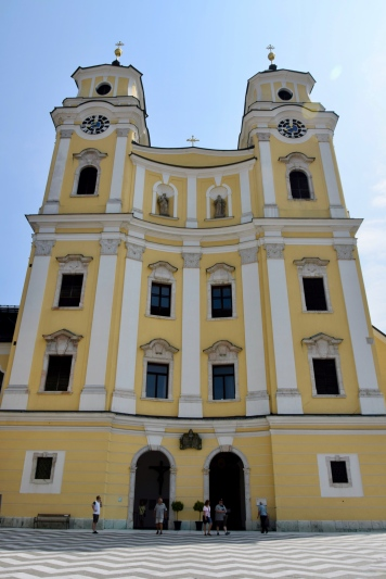 """Sound of Music"" tour, church in Mondsee"