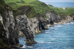 Cliffs near Dunluce Castle