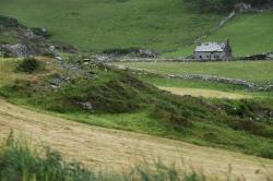 Abandoned farmhouse along the Ring of Beara