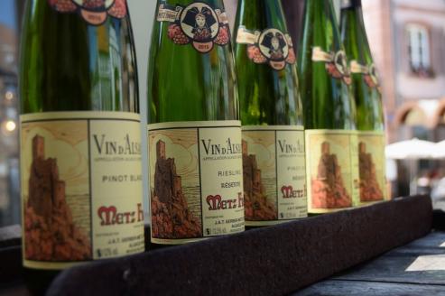 Wine in Ribeauville