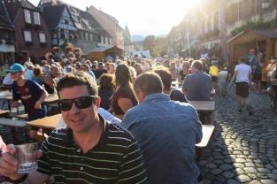 Alsatian festival in Bergheim