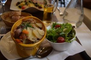 Alsatian casserole called Baeckeoffe