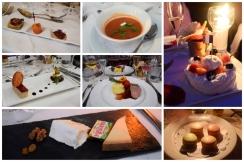 A delicious seven course dinner