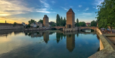 Les Ponts Couverts in Strasbourg