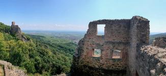 Ruins of Saint-Urlich castle, Ribeauvillé