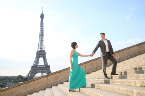 Romance in Paris!